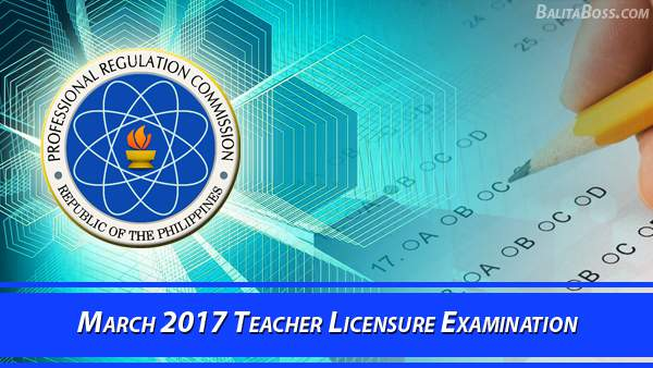 Teacher March 2017 Board Exam
