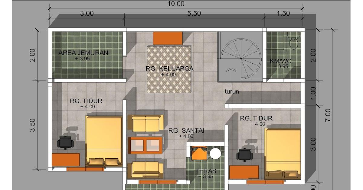 Desain Rumah Minimalis Ukuran 6x8  model rumah minimalis ukuran 6x8 desain rumah modern