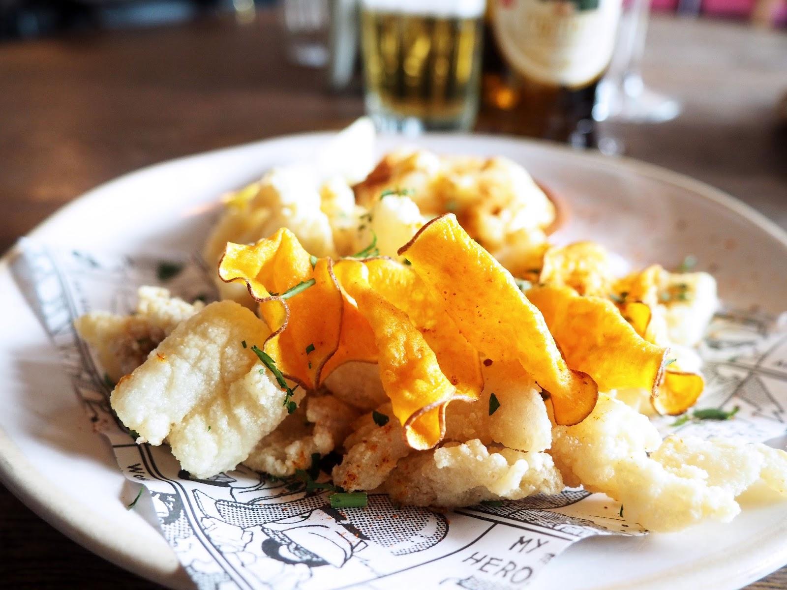 Jamie's Italian Super Lunch Menu Fritto Misto Starter