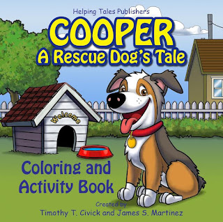 Cooper: A Rescue Dog's Tale book cover image