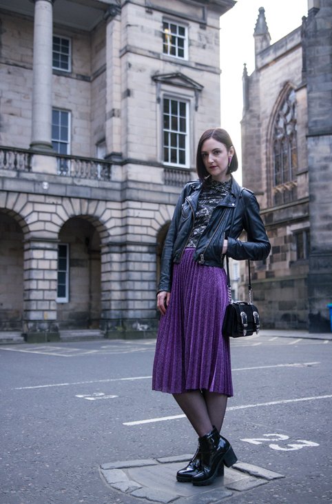 Edinburgh fashion blogger