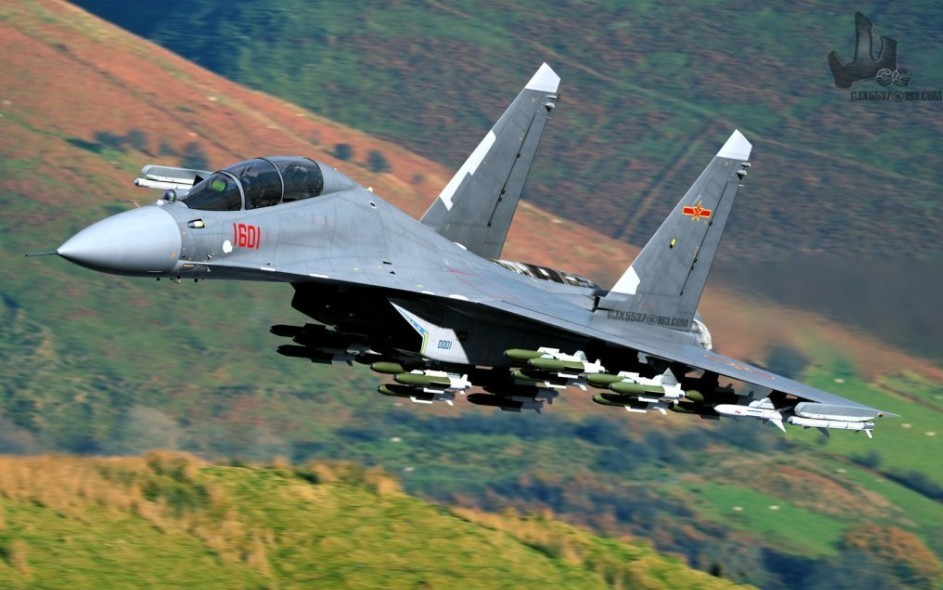 J-16D, Musang Liar dari China