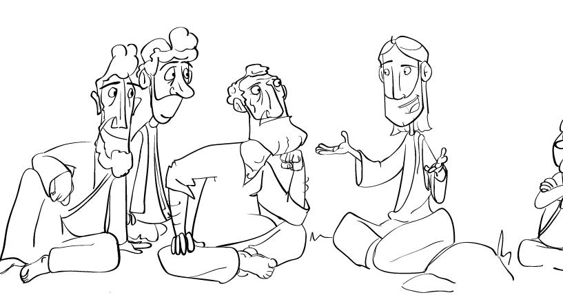 Sunday School Sketches: Matthew 18