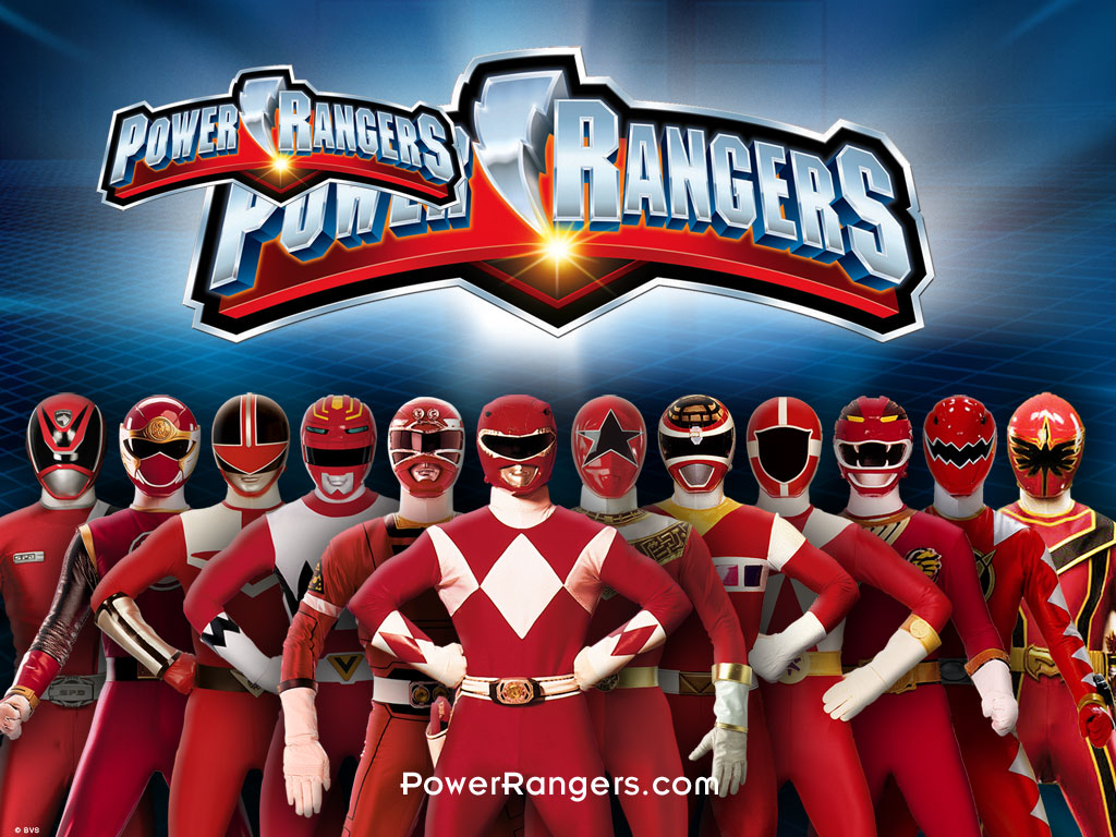 ser un power ranger o ser como uno de los personajes de la serie