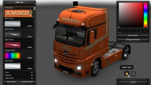 M.Way&Son Skin for Mersedes MP4
