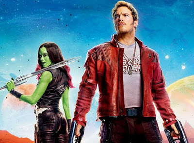 Gambar Jaket Kulit Star Lord Guardian of Galaxy Vol. 2