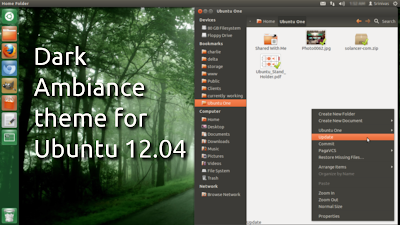 dark ambiance theme for ubuntu 12.04