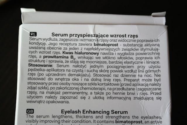 long 4 lashes serum przyspieszajace wzrost rzes