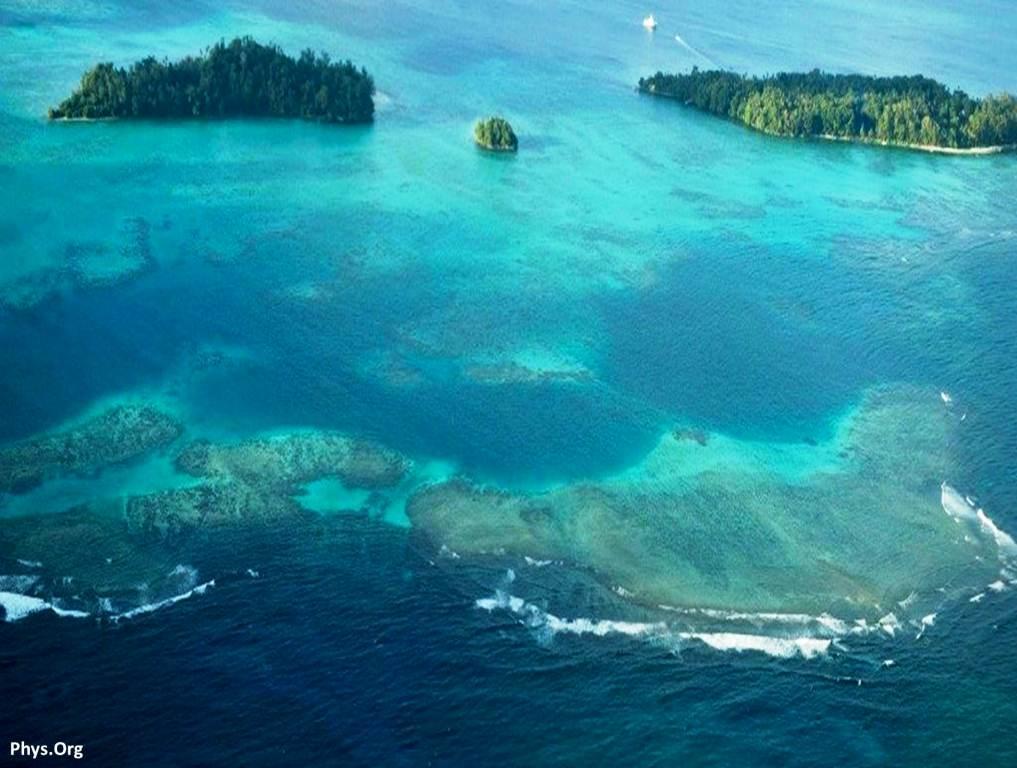 اختفاء خمسة من جزر سليمان بسبب ارتفاع منسوب مياه البحر !