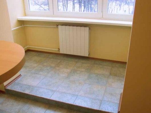 Ремонт: Плитка на підлозі фото