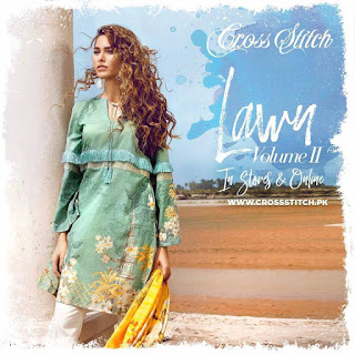 Cross-stitch-eid-lawn-summer-dresses-2017-with-prices-1