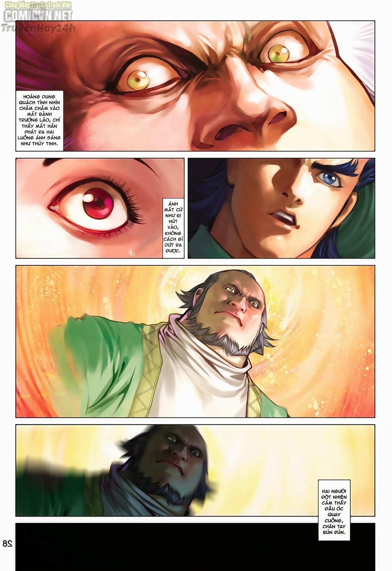 Anh Hùng Xạ Điêu anh hùng xạ đêu chap 65: cái bang tân chủ trang 28