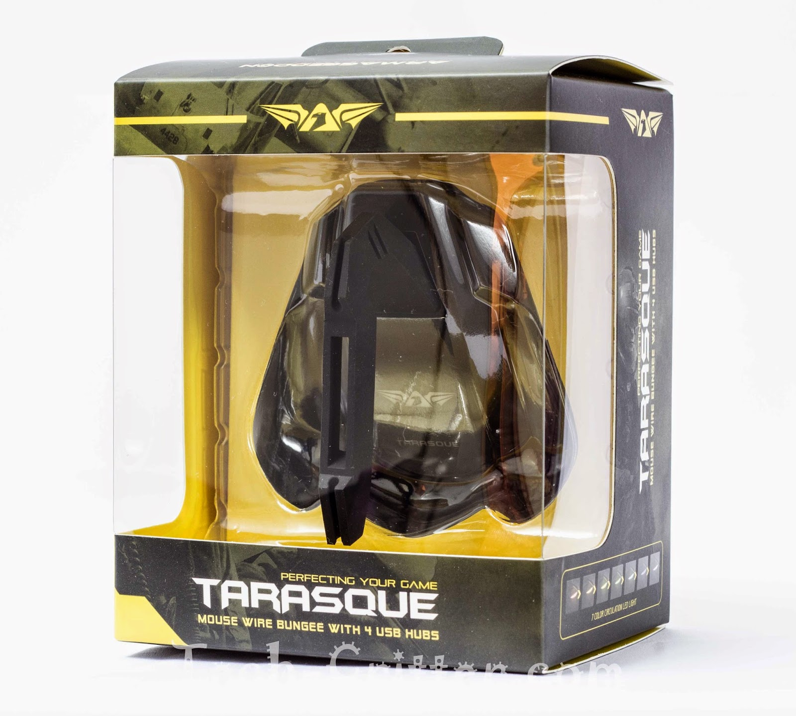 Unboxing & Review: Armaggeddon Tarasque Mouse Bungee 33