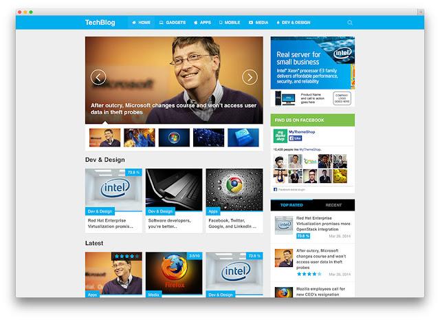 WordPress Teknoloji Temaları #1