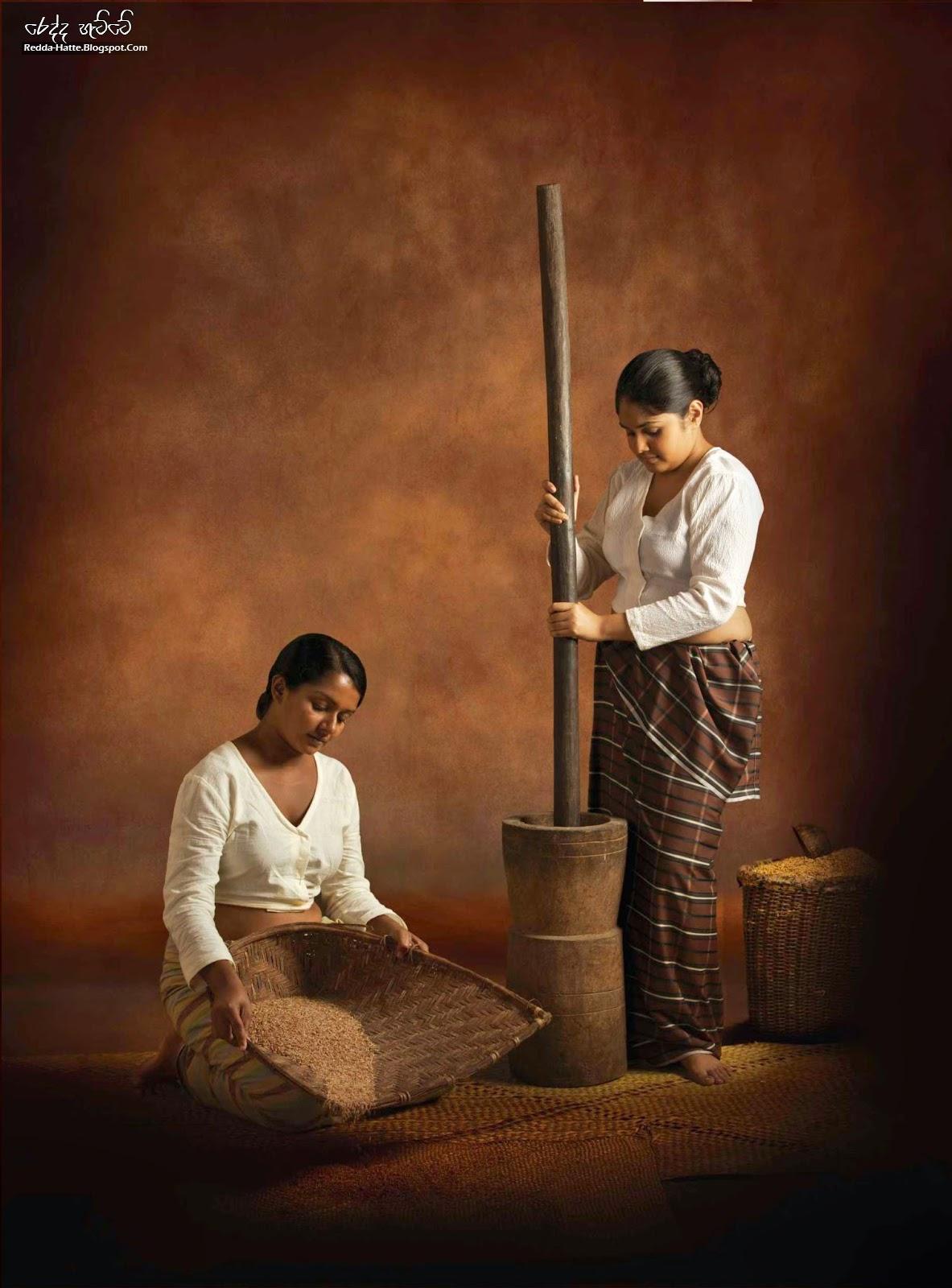 Sri Lankan Womens Redda Hatte