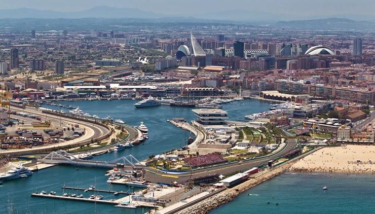 Panorámica de la ciudad de Valencia
