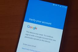 Cara Bypass Semua Android Smartphone Verifikasi Google Account