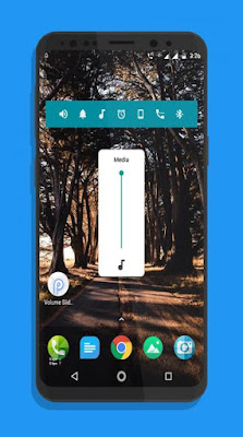 Android P Volume Slider1