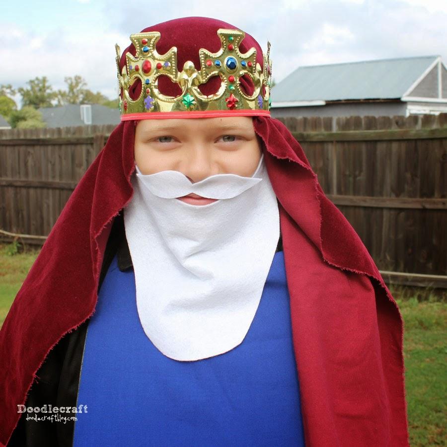 The Nativity 3 Wisemen King Beards