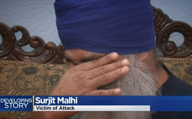"ANTIFA LEFTISTS Beat Sikh Man and Republican Hanging GOP Campaign Signs – Tell Him to ""Go Back to Your Country!"" (VIDEO)"