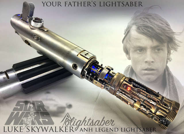 Luke ANH Legend Lightsaber