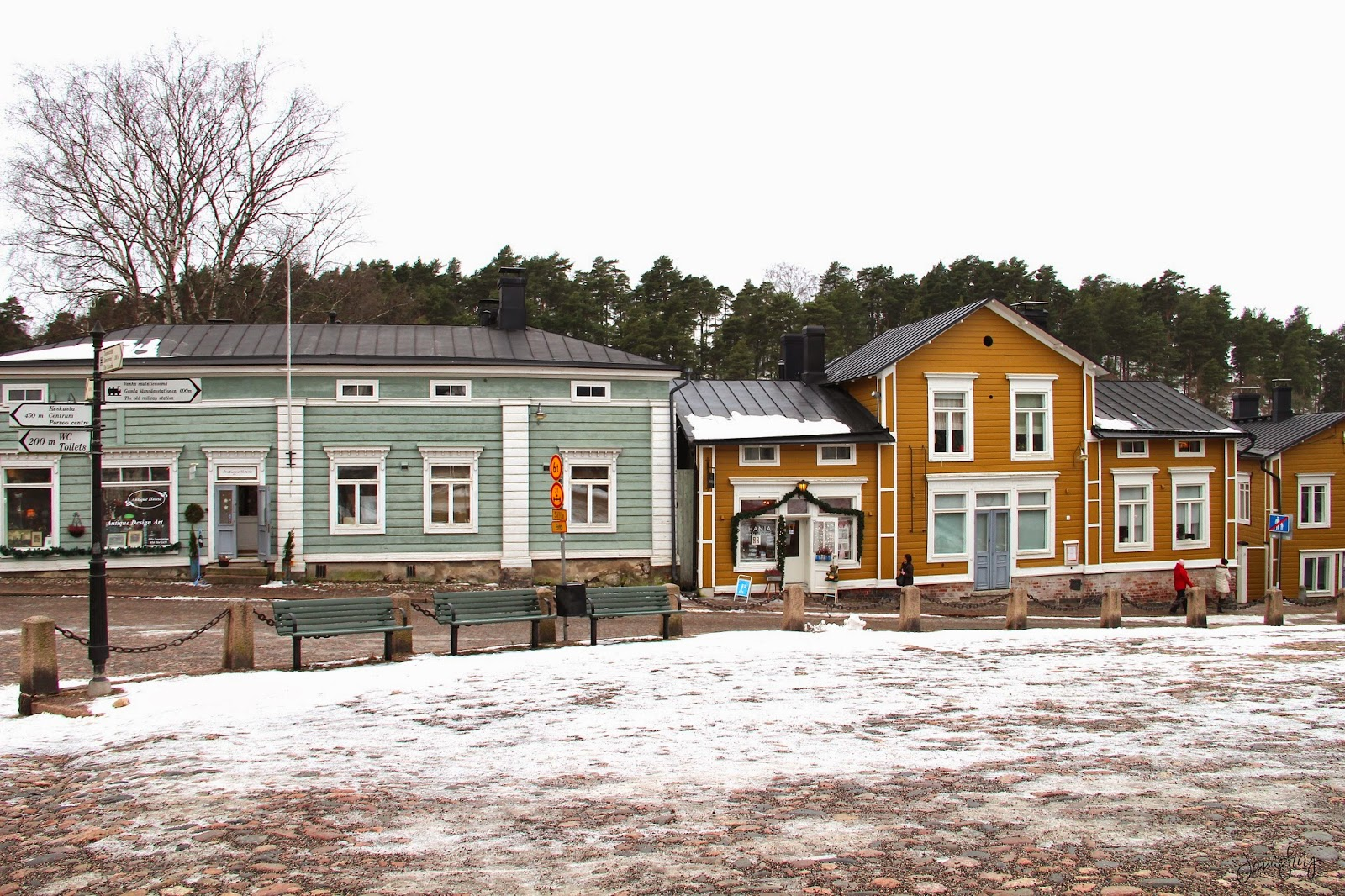 Old Town of Porvoo, Finland