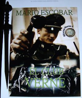 Portada del libro El club Verne, de Mario Escobar