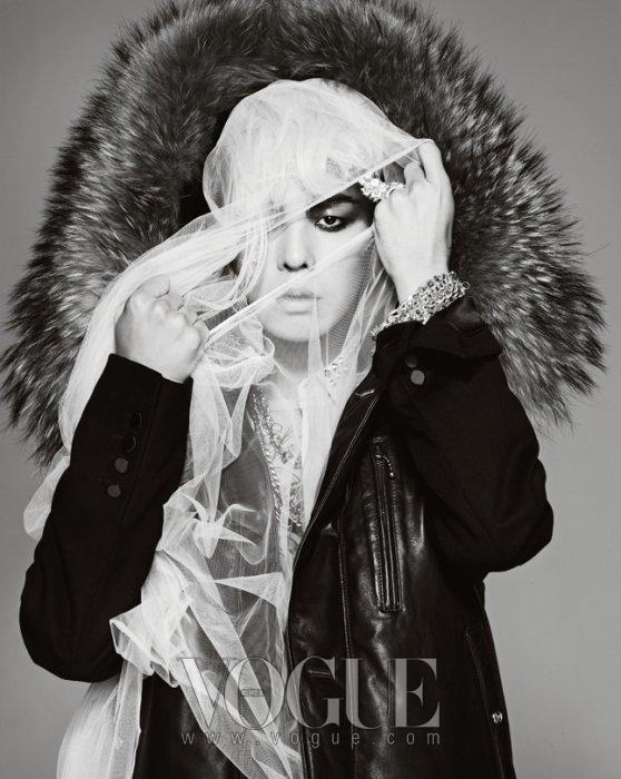 G Dragon Bigbang Fashion Nail Art Sticker Kpop Star Gift: Oddness/Weirdness: UPDATED: G-Dragon For Vogue Korea '09