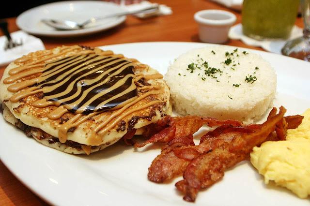 Denny's Uptown Parade Manila Choco Peanut Butter Pancakes