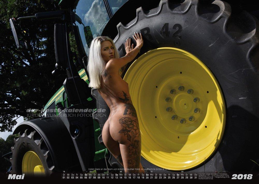 erotischer landmaschinen kalender