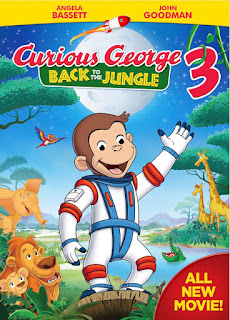 Curious George 3 Back to the Jungle DVD