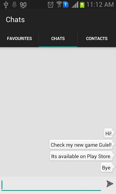 android bubble chat source code