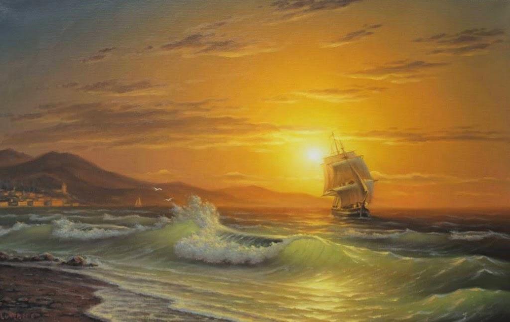 Cuadros modernos pinturas y dibujos im genes de cuadros for Cuadros de marinas