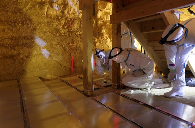 3D images created using cosmic particles show internal chambers of Bent Pyramid