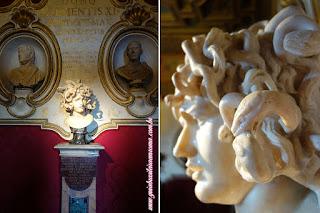 Museus Capitolinos Cabeca Medusa guia roma portugues - Museus Capitolinos, os museus mais antigos do mundo