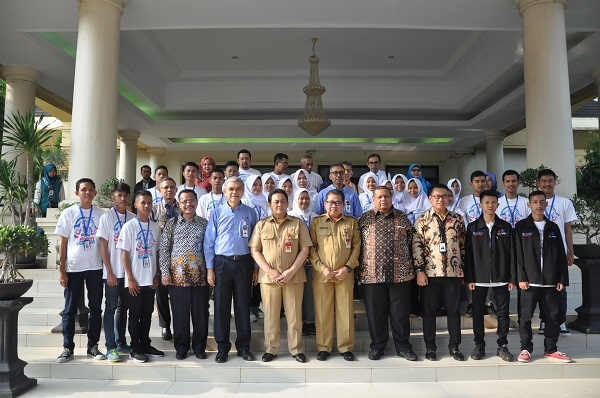 Banten Lepas 20 Siswa Program Siswa Mengenal Nusantara 2018