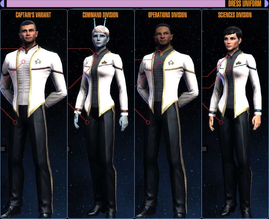 The gallery for --> Star Trek Online Odyssey Uniform