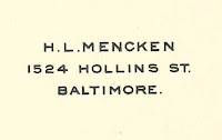 A printed name and address.