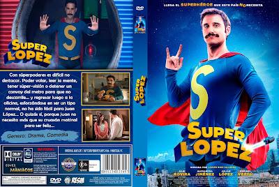 CARATULA SUPER LOPEZ - 2018 [COVER DVD]