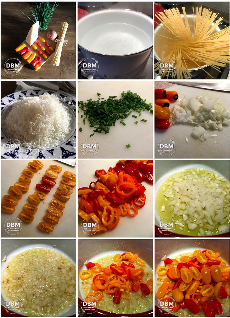 spaghetti-pimientos-cherrys-pasos1