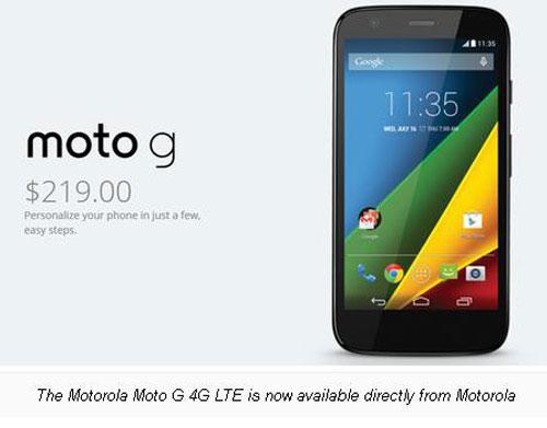 Dibanderol Rp2 Jutaan, Motorola Moto G 4G LTE Resmi Dijual