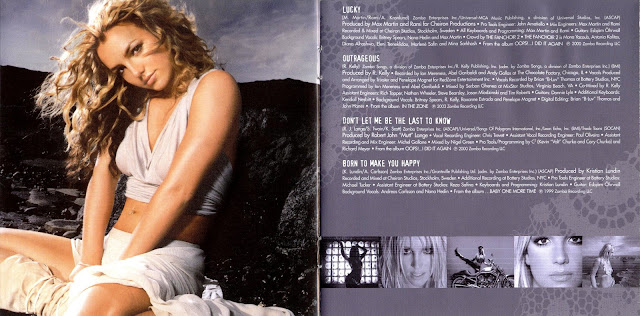 Greatest hits: My prerogative de Britney Spears  booklet
