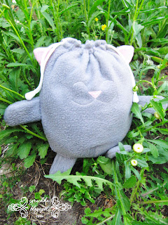 Мешок для пижамы, пижамница, кот