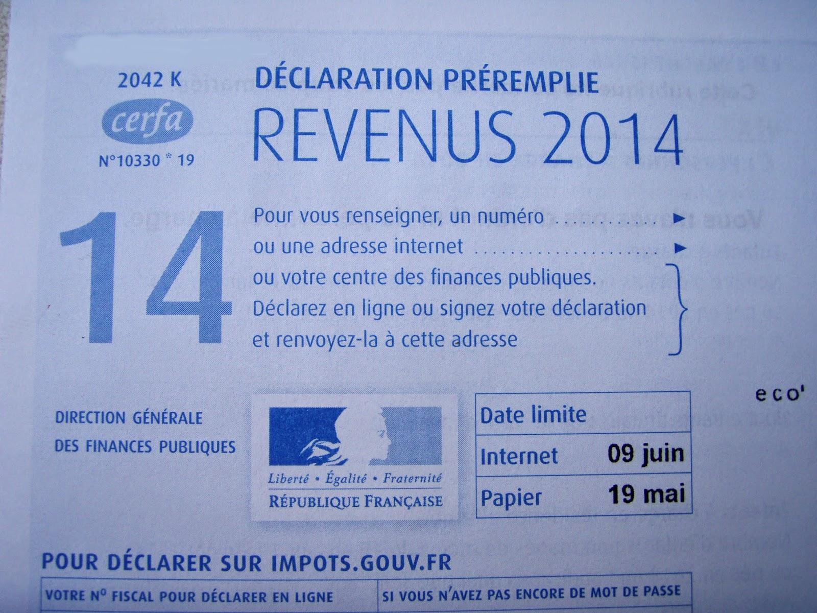Democratie Et Solidarite A Villepreux La Declaration D Impots Des