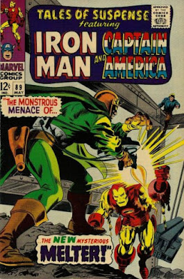 Tales of Suspense #89, Iron Man vs the Melter
