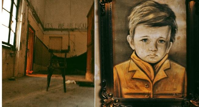 Το Αγόρι που Δακρύζει : Ο Καταραμένος Πίνακας στο Κέντρο της Αθήνας