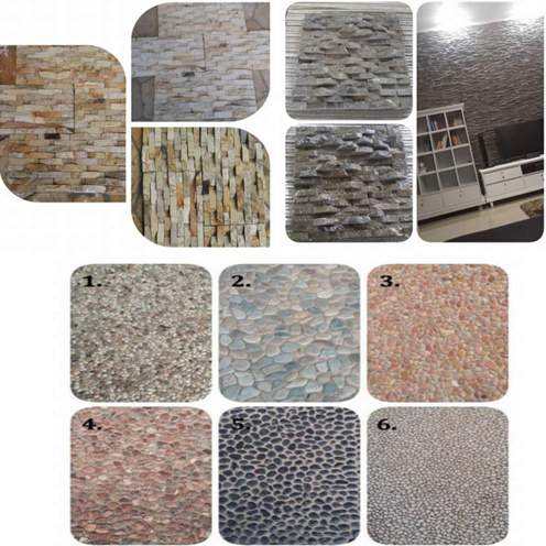 Motif batu alam untuk rumah minimalis tampak depan