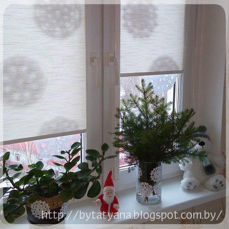 снежинки из бумаги декор
