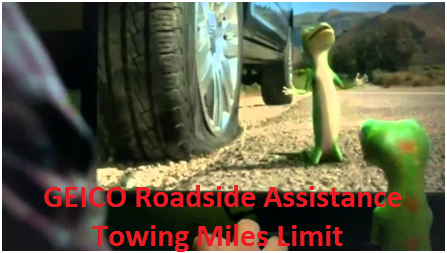 GEICO Towing Distance Limit and Coverage