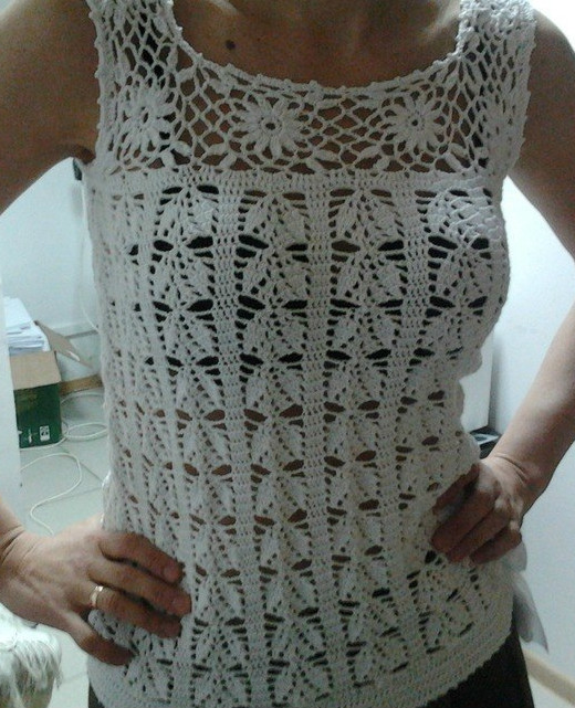 blouse crochet
